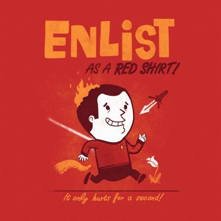 Enlist As A Red Shirt!
