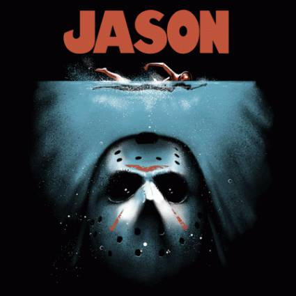 Jason Jaws horror mashup