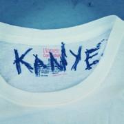 Kanye West white t-shirt funny