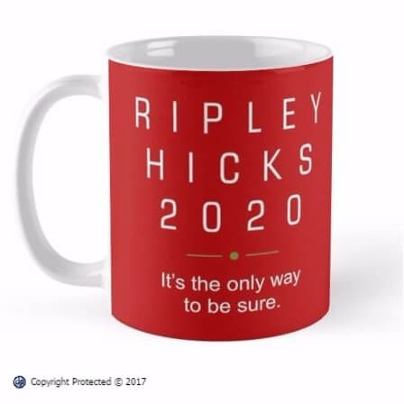 Ripley Hicks 2020 Presidential Election Campaign mug