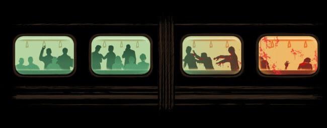 zombie subway