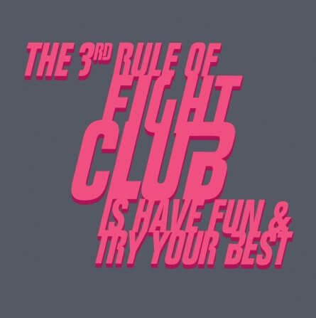 3rd rule of fight club