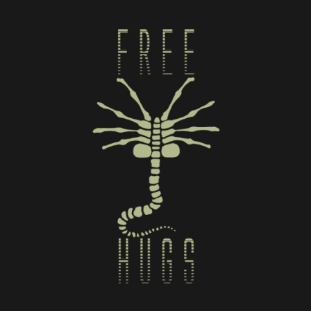 Free Hugs Alien facehugger