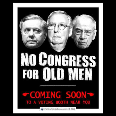 No Congress for Old Men movie poster
