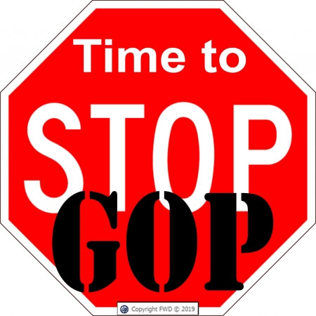 Time to Stop GOP Sign