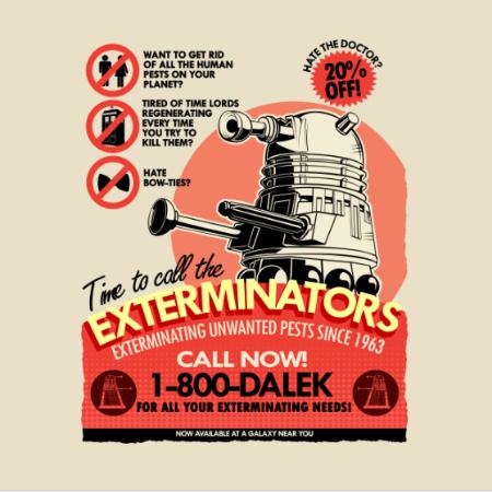 dalek exterminators ad