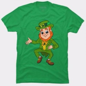 st. patrick's day lucky leprechaun shirt